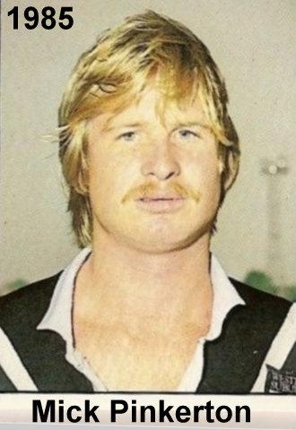 Mick Pinkerton 1985
