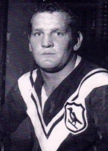 Nev Hornery good pic close up in Wests jumper 1969