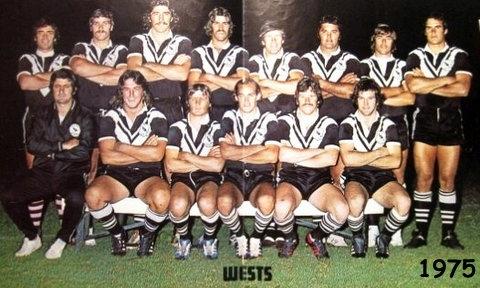 Wests team photo 1975