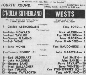 1970 Wests v Sharks ore season