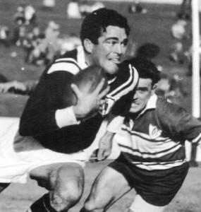 Jim Cody story 1962 Kel O'Shea on the run.