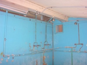 Pratten Park dressing room 3 showers
