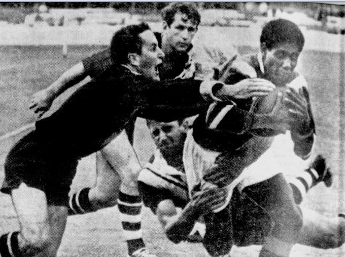John Elford 1968 SCG v Easts