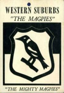 Magpie Footie card 1960's