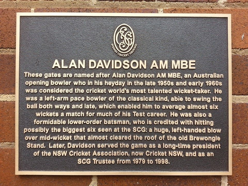 Alan Davidson Gates sign
