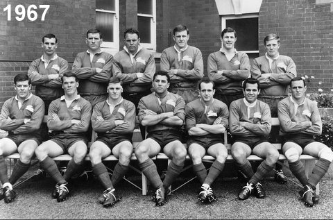 Ivan team photo 1967 Souths side.
