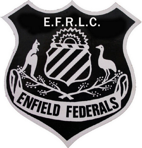 Enfield Feds Badge.