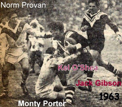 Kel O Shea 1963 SCG Jack Gibson and Monty Porter