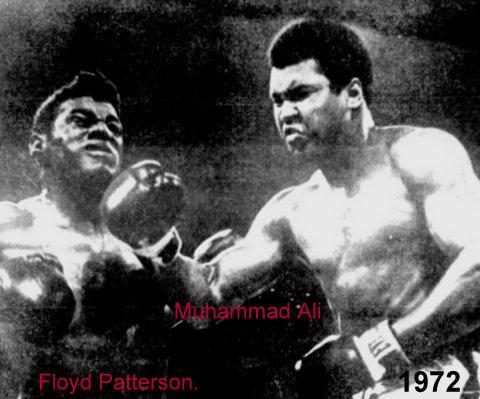 1972 Muhammad Ali.