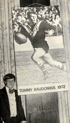 Tommy R at the Rothmans Cup 1972