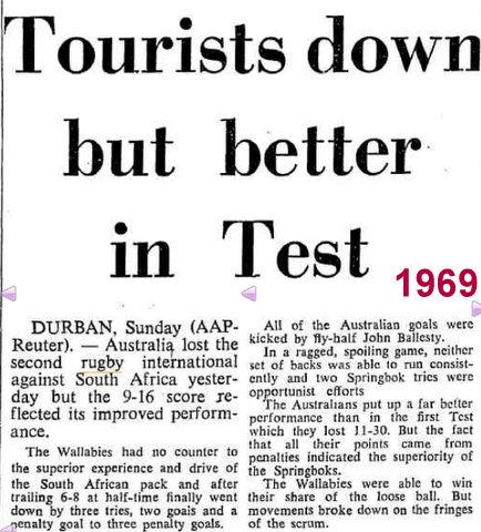new 1969 test v sa