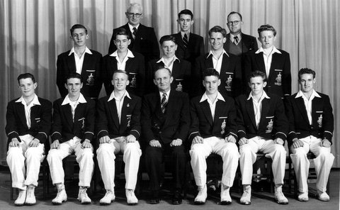 1955 FSB first xi underfeated premiers .
