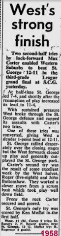 1958 3rd grade GF
