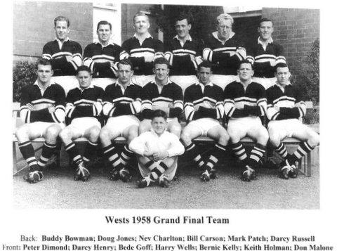 1958 GF team photo
