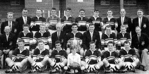 1958 Presidents Cup team photo