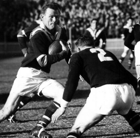 1960 Wests v Easts @ SCG Terry Fernley.