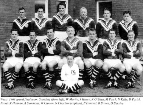 1961 Wests GF team photo