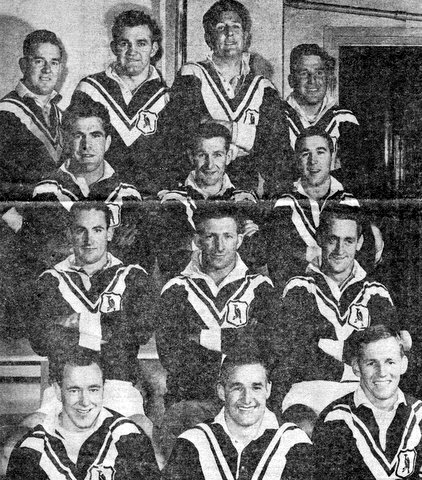 1961 Wests team photo @ SCG