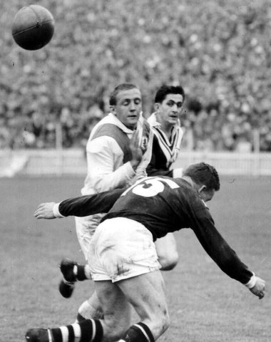 1961 Wests v Saints @ SCG Dave Brown StG