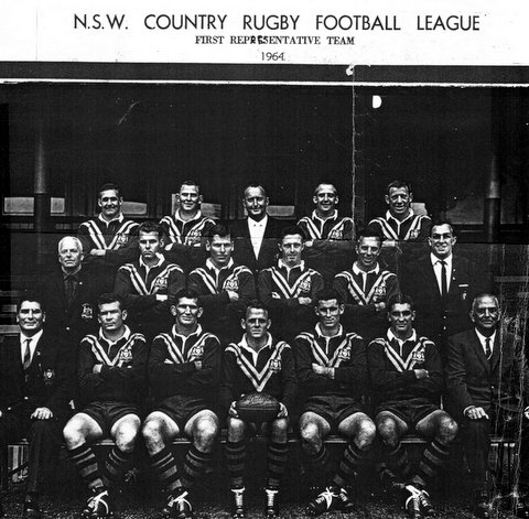 1964 Country First team photo