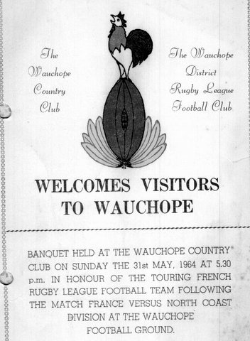 1964 Franch visit Waucope for dinner