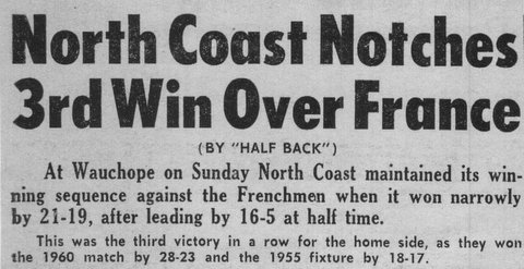 1964 story about win over france.