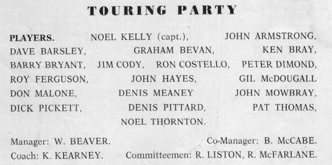 1965 PNG tour Touring Party.