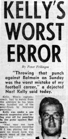 1966 Kellys story about missing playoff.