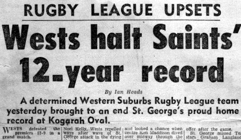 1966 Wests V StG story.