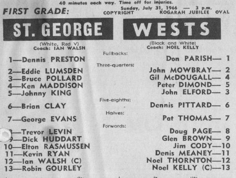 1966 Wests v StG upset win.