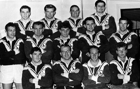 1966 photo Wests team photo
