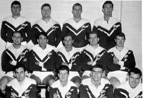1967 Penrith team photo Laurie Fagan Capt