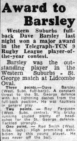 1968 Dave wins award