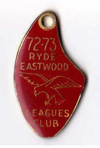 1972 Ryde Eastwood Badge.