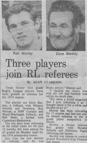 1978 story about rl referees and ex players