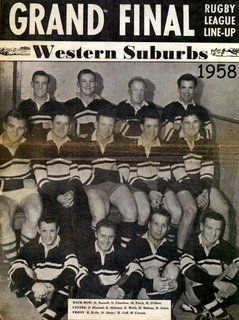 Wests team photo 1958 Grand Final team.