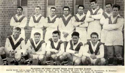 1955 b trip to dubbo team pic.