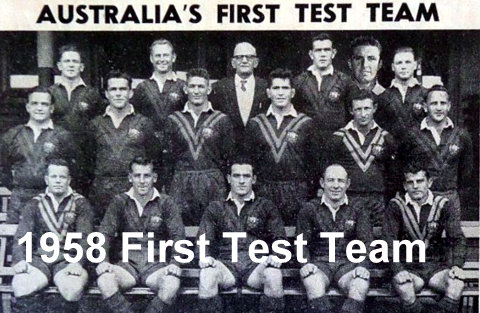 1958 Aust Test team