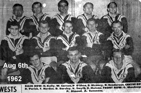 1962 b Wests team photo