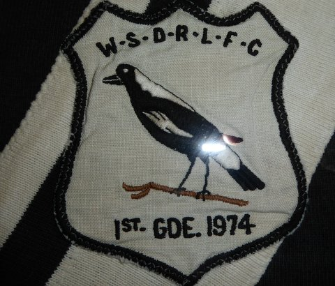 1974 Badge on jumper
