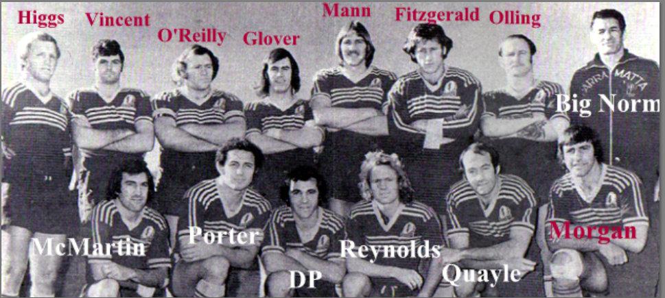 1975 Parra team photo