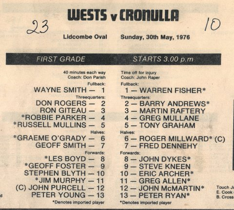 1976 JC try game 2