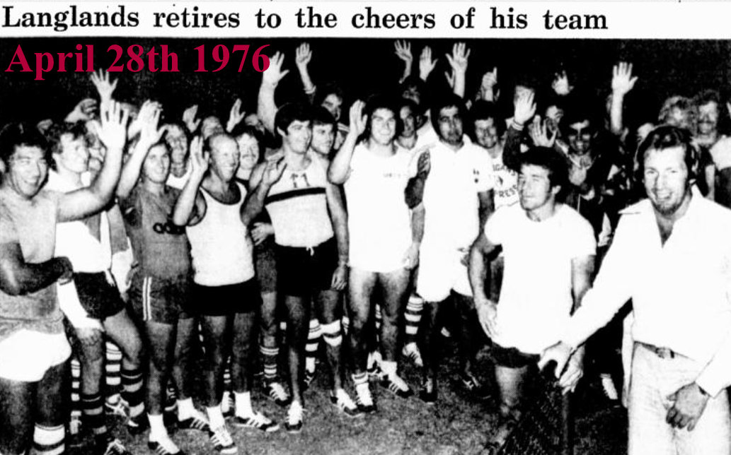 1976 photo Chang retires
