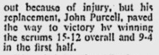 1977 amco cup story on john winning scrum in final