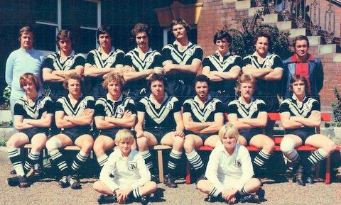 1977 undewr 23 team photo