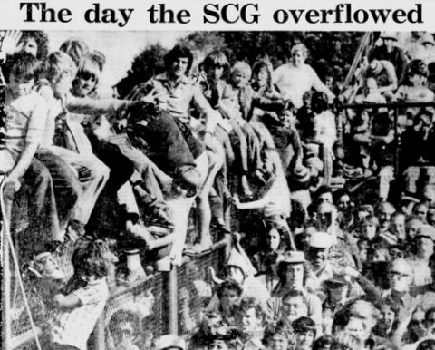 1978 photo SCG over flow