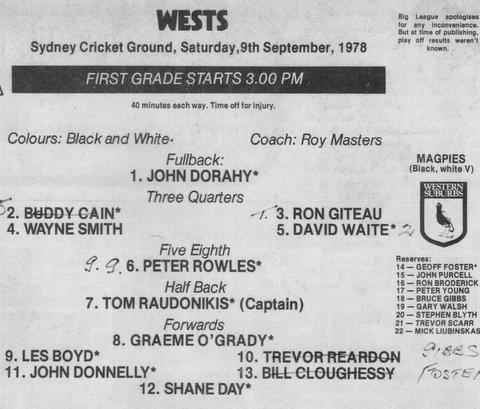 1978 programe