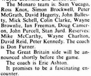 1979 Monaro team.