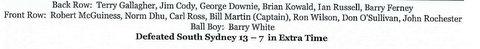 1961 reserve grade names