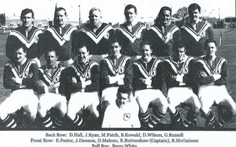 1961 reserve grade photo Henson Park